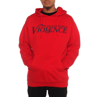 8 9 Clothing Co. violence pullover hoodie red tees TheDrop