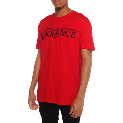 8 9 Clothing Co. violence t shirt red 8 9 mfg co red TheDrop