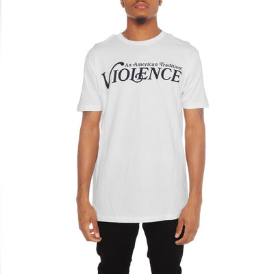 8 9 Clothing Co. violence t shirt white tees TheDrop