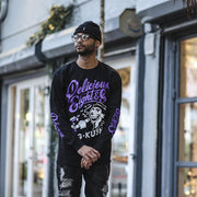 8 9 MFG Co. delicious l s t shirt purple tees TheDrop