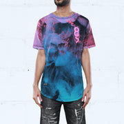 8 9 MFG Co. dirty sprite curved hem t shirt red tees TheDrop