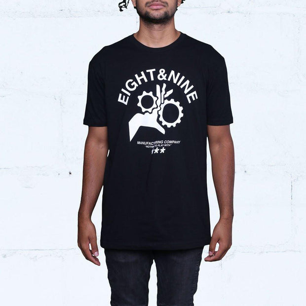 8 9 MFG Co. donot play t shirt black tees TheDrop
