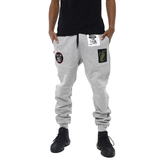 8 9 MFG Co. grief flight jogger grey pants and joggers TheDrop