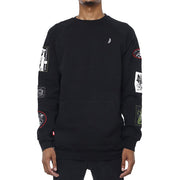 8 9 MFG Co. grief patched out sweatshirt black jackets and outerwear TheDrop