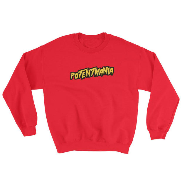 8 9 MFG Co. jae millz potentmania sweatshirt red jackets and outerwear TheDrop
