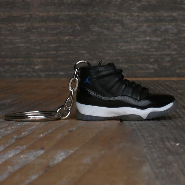 8 9 MFG Co. jordan 11 space jam sneaker keychain jewelry TheDrop