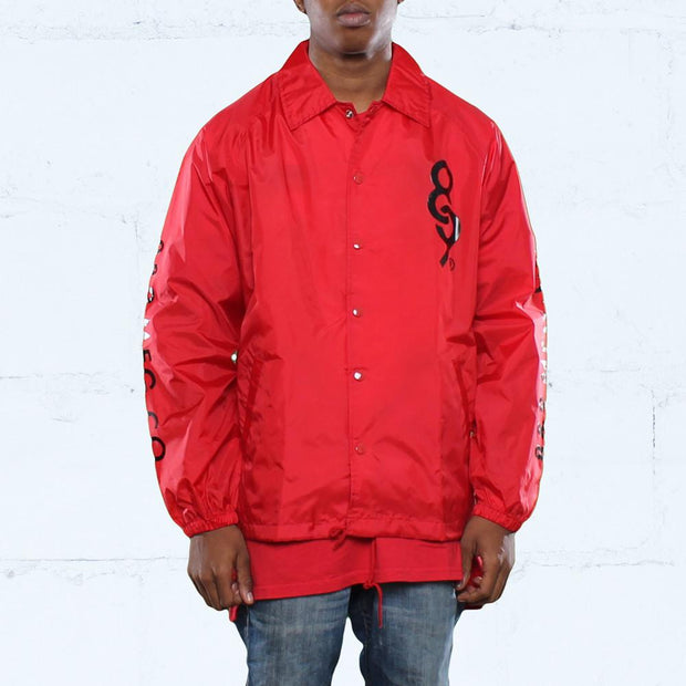 8 9 MFG Co. keys coaches jacket fire red jackets and outerwear TheDrop