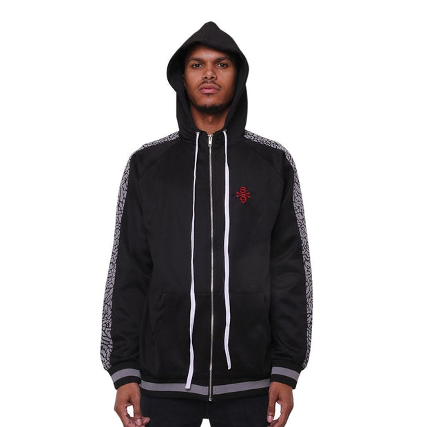 8 9 MFG Co. own the team double stripe jacket cement jackets and outerwear TheDrop