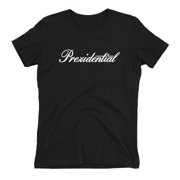 8 9 MFG Co. prez p cadillac black womens t shirt tees TheDrop