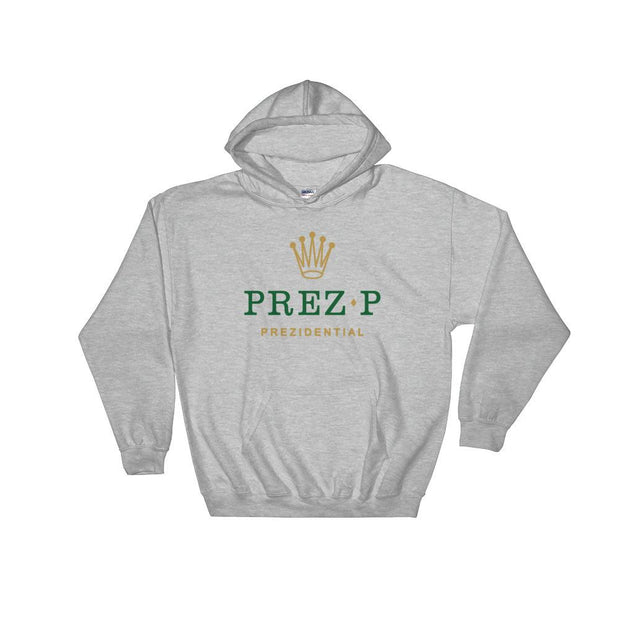 8 9 MFG Co. prez p rolex grey hooded sweatshirt jackets and outerwear TheDrop