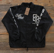 8 9 MFG Co. rise above coaches jacket black jackets and outerwear TheDrop