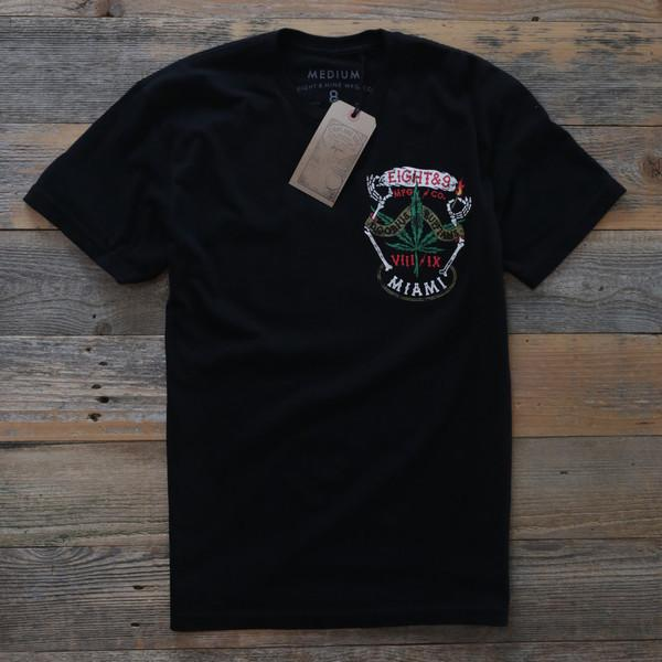 8 9 MFG Co. roaches t shirt black tees TheDrop