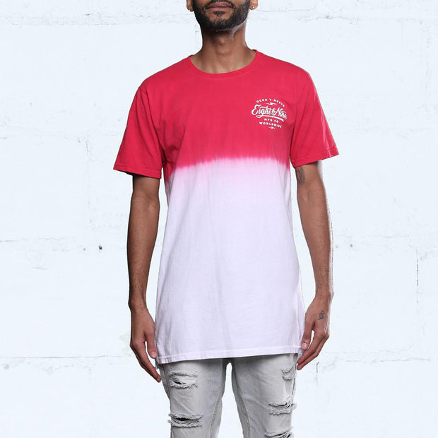 8 9 MFG Co. served dip dye t shirt gym red tees TheDrop