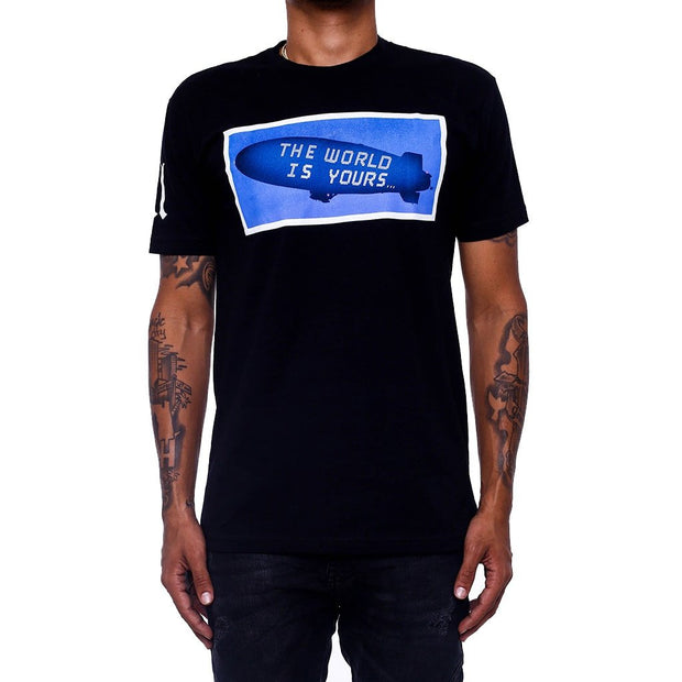8 9 MFG Co. the world is yours black t shirt tees (men only) TheDrop
