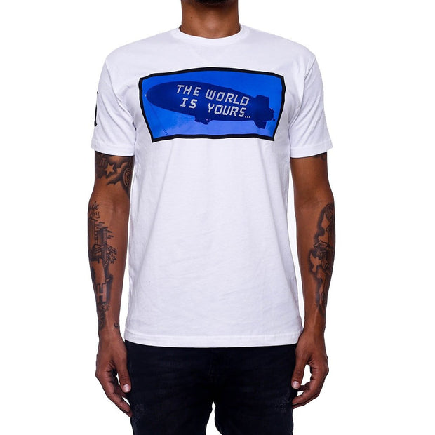 8 9 MFG Co. the world is yours white t shirt tees TheDrop