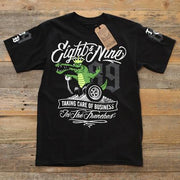 8 9 MFG Co. trench business t shirt black tees TheDrop