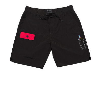 All Good black doheney boardshort shorts black TheDrop