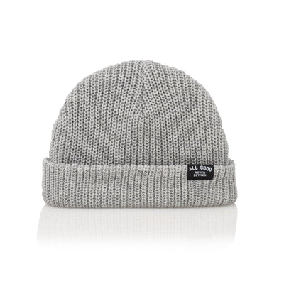 All Good everyday beanie grey hats and beanies TheDrop