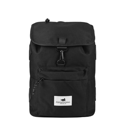 Alpine Division rockaway daypack black commuter bags TheDrop
