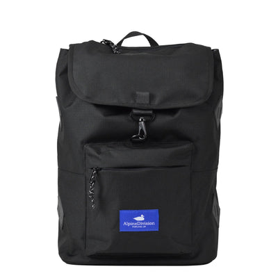 Alpine Division rockaway daypack ripstop commuter bags black TheDrop