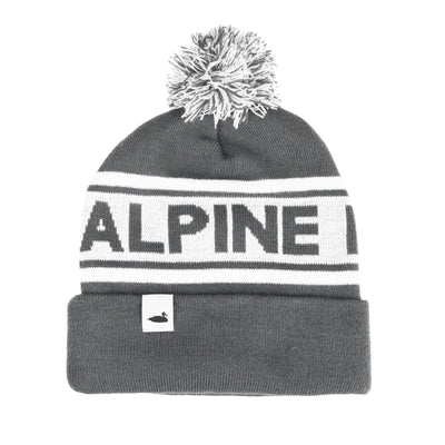 Alpine Division summit pom beanie hats and beanies TheDrop
