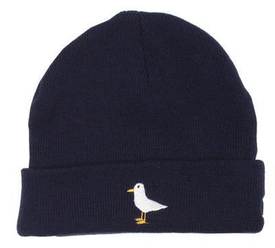 Altru Apparel altru apparel seagull beanie hats and beanies navy TheDrop