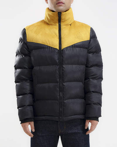 Black Pyramid Store chevron down jacket jackets and outerwear TheDrop