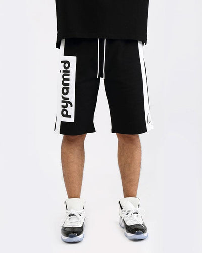 Black Pyramid Store clean block shorts shorts TheDrop