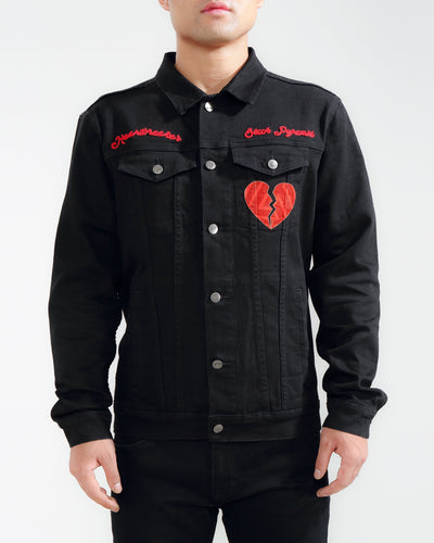 Black Pyramid Store heartbreaker denim jacket 1 jackets and outerwear TheDrop