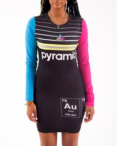 Black Pyramid Store womens pyramid elements dress dresses multi TheDrop