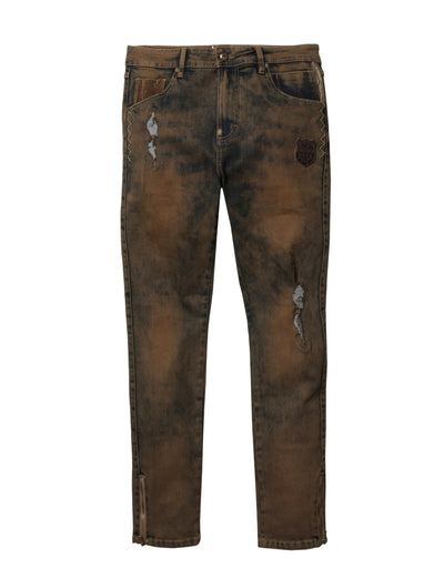 Born Fly big tall farms tinted denim pants 1910d3468bt aci1 denim jeans TheDrop