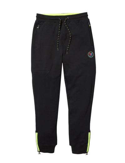 Born Fly big tall jewel sweat pants 1911b3499bt blk pants and joggers black TheDrop