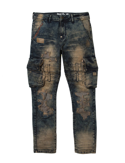Born Fly cargo tinted jean 1910d3549 tiw denim jeans TheDrop