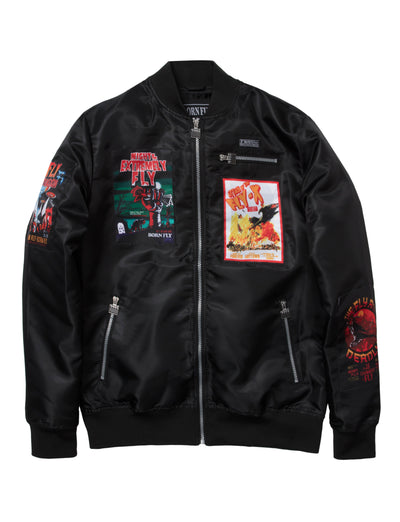 Born Fly jason jacket 1909o3376 blk jackets and outerwear black TheDrop