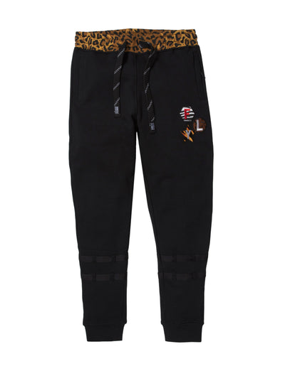 Born Fly tank jogger 1909b3394bt blk pants and joggers black TheDrop
