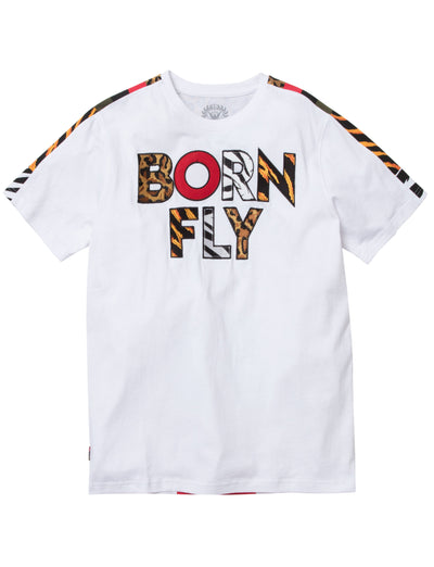 Born Fly the armour tee 1909t3396bt wht tees white TheDrop