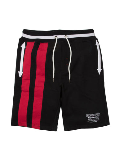 Born Fly trouble short 1908b3361 blk shorts black TheDrop