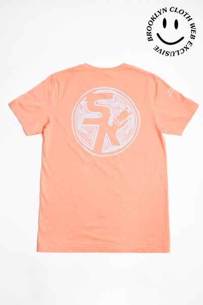 Brooklyn Cloth selfie kid tee orange tees orange TheDrop
