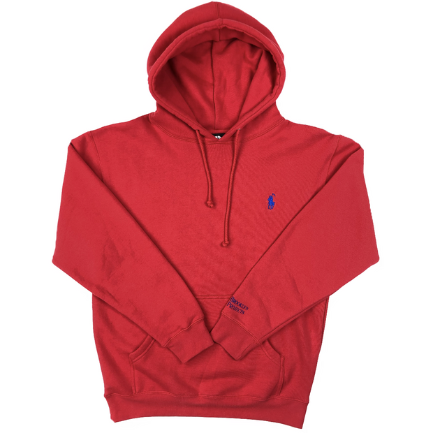Brooklyn Projects reaper embroidered hoodie 2 hoodies and crewnecks red TheDrop