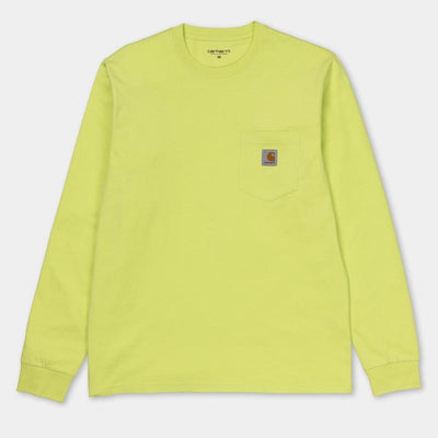 Carhartt carhartt wip long sleeve pocket shirt lime tees TheDrop