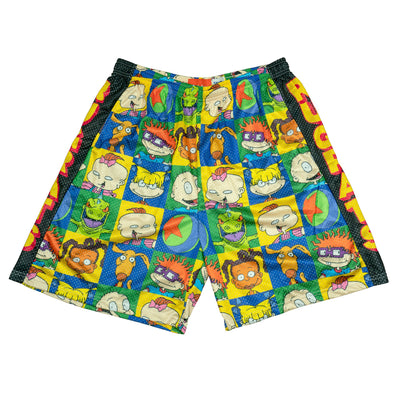 Chalk Line Apparel rugrats retro all over print mesh shorts shorts TheDrop
