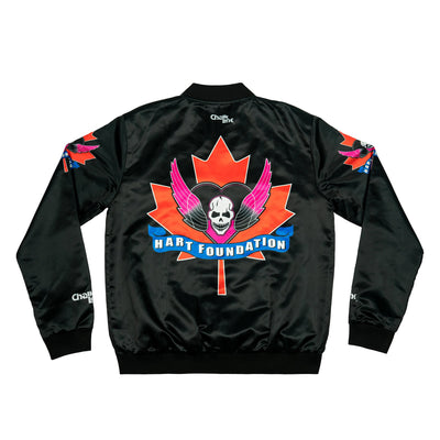 Chalk Line Apparel the hart foundation retro maple leaf jacket jackets and outerwear TheDrop