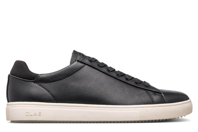 CLAE bradley black milled tumbled leather ss18 sneakers black TheDrop
