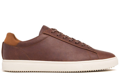 CLAE bradley chestnut oiled leather ss18 sneakers brown TheDrop