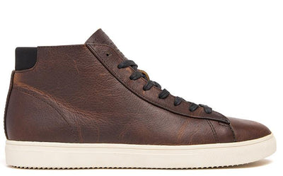 CLAE bradley mid cocoa leather aw17 sneakers brown TheDrop