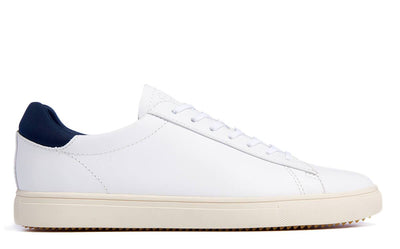 CLAE bradley white leather sneakers white TheDrop