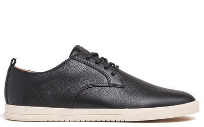 CLAE ellington leather black milled tumbled leather ss18 black TheDrop