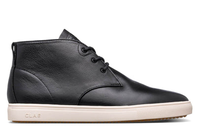 CLAE strayhorn sp black milled leather black TheDrop