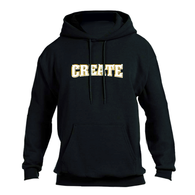 CREATE bling hoodie black sweaters black TheDrop