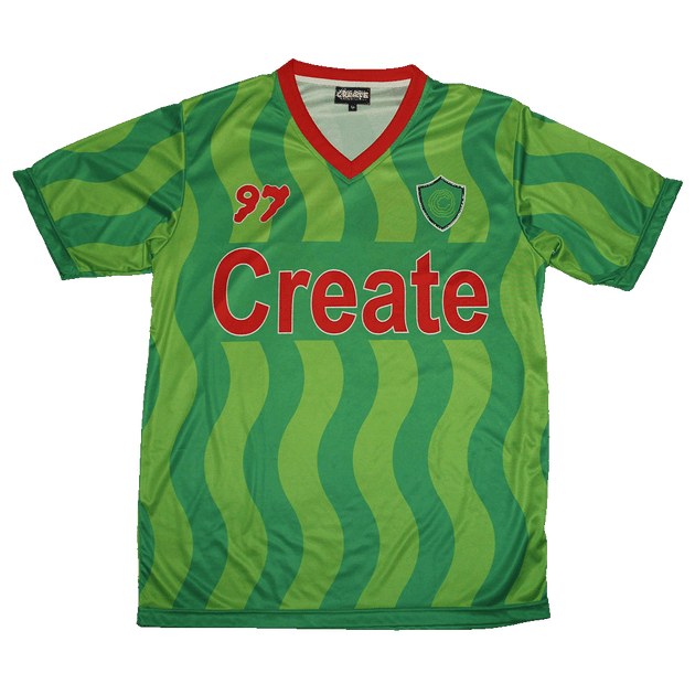 differently 15cea 3fdad Soccer Kit 97 Alt Jersey & Shorts (Green)